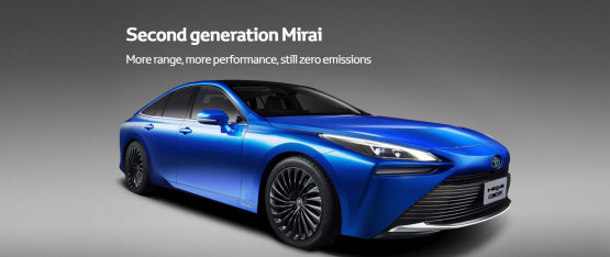 Second generation Mirai More range, more performance, still zero emissions